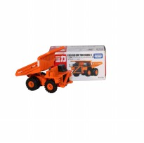 Die Cast Tomica Hitachi Rigid Dump Truck NO.102