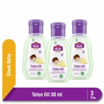 Multipack Sleek Baby Telon Oil 30 ml Botol