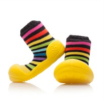 Attipas Baby Shoes Rainbow Yellow