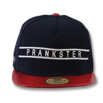 Snapback TOPI NAVY RED (PU) PIC PRANKSTER SBS70333_NVY