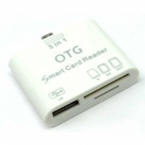 5 in 1 Micro USB Card Reader for Android Smartphones & Tablets