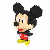 Puzzle Microparticles Blocks Mickey Kids Toys