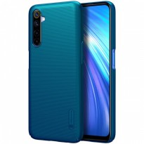 Hard Case Realme 6 Nillkin Frosted - Peacock Blue