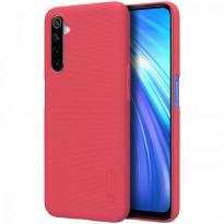 Hard Case Realme 6 Nillkin Frosted - Red