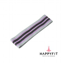 HAPPYFIT RESISTANCE HIP BAND GREY SIZE S