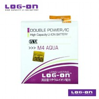 LOG-ON Battery For Sony Xperia M4 Aqua - Double Power & IC Battery - Garansi 6 Bulan
