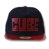 Snapback TOPI NAVY RED (PU) PIC CUBE SBS70335_NVY