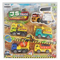 JS CONSTRUCTION TRUCK 4 PCS