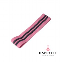 HAPPYFIT RESISTANCE HIP BAND PINK SIZE M