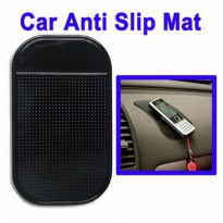 Car Anti-Slip Mat Super Sticky Pad for Phone / GPS/ MP4/ MP3 - Black