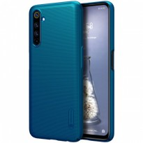 Hard Case Realme 6 Pro Nillkin Frosted - Peacock Blue