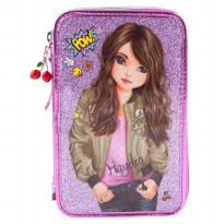 TOPModel TM 6614 TOPModel Filled Pencil Case Triple Friends purple