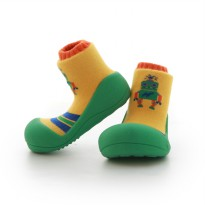 Attipas Baby Shoes Robot Green