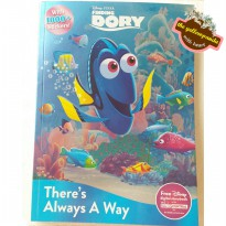Disney Finding Dory There's Always A Way Activity Book, Story Book, Coloring Book, Sticker Book