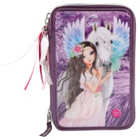 TOPModel TM 8952 Fantasy Model Filled Pencil Case Triple, Pegasus LED