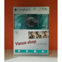 LOGITECH WEBCAM C270H HD QUALITY / CAMERA C 270H HD 720P ORIGINAL