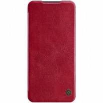 Case Xiaomi Redmi Note 9 Pro Nillkin Qin Leather Flip - Red