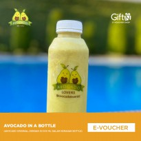 Avocado Lovers - Voucher AVOCADO IN A BOTTLE (AVOCADO ORIGINAL DENGAN ISI 500ML DALAM BOTOL)