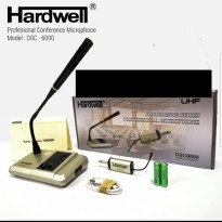 MIC WIRELESS PODIUM MEJA HARDWELL DSC