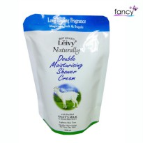 LEIVY SHOWER CREAM GOATS MILK 250ml POUCH
