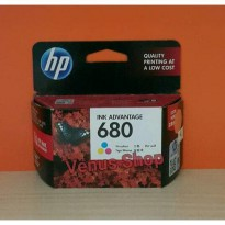 HP TINTA 680 COLOR / HP INK ADVANTAGE 680 WARNA ORIGINAL