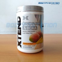 Scivation Xtend BCAAs 30 Servings Mango Madness / amino bcaa bubuk extend powder power recovery supl