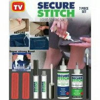 TD0158 SECURE STITCH LIQUID SEWING SOLUTION GLUE LEM PERBAIKAN PAKAIAN