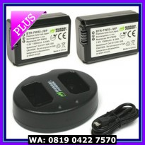 (Diskon) Wasabi Power Battery (2-Pack) and Charger for Sony NP-FW50
