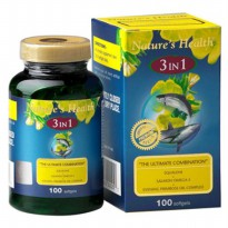 (POP UP HBD) Nature'S Health Squalene+Omega+Epo 3 In 1 30 Softgels