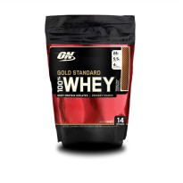 (POP UP HBD) Optimum  Whey Gold Double Chocolate 1 Lb Pouch