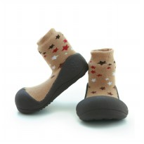 Attipas Baby Shoes Twinkle Brown