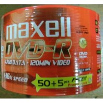 Maxell DVD-R 50 PCS Pack
