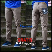 Celana Chino Mocca Premiun Original Brand In One