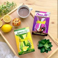 Paket Minuman Pelangsing Coklat Diet Chocofit + LemonFit Choco Fit Lemon Fit Original