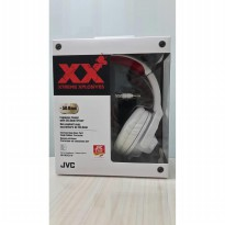 JVC HEADPHONE STEREO HA-M55X-W / HEAD PHONE DJ WHITE