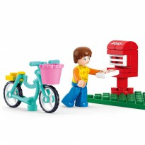 Brick SLUBAN GIRL DREAM M38-B0516 - Mailing Letter - Mainan Koleksi