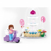 Brick SLUBAN GIRL DREAM M38-B0519 - Fountain - Mainan Koleksi