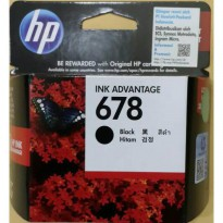 HP INK / TINTA 678 BLACK ORIGINAL