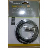 TARGUS CABLE LOCK NUMERIC PA410B /NOTEBOOK/LAPTOP CABLE LOCK