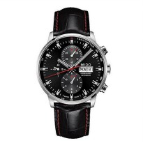 [macyskorea] Mido Commander II Black Leather Automatic Watch MD M016.414.16.051.00/16881468
