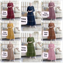 Dress Muslim Gamis Modis Trina bel