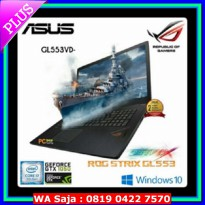 [Star Product] ASUS ROG GL553VD # i7-7700 8gb GTX1050 w10 !!