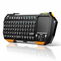 QQ Multifunction Mini Bluetooth Keyboard with Touchpad &Mouse Function