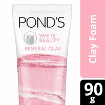 PONDS White Beauty Mineral Clay Foam 90g