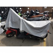 Parachute Motorcycle Cover XL Size (140 x 240 cm) / Penutup Motor