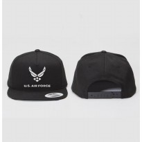 Snapback US Air Force - Hitam