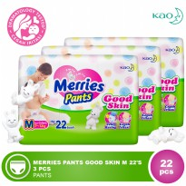 MERRIES Pants Good Skin M 22s 3 Pcs