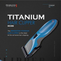 Remington Alat Cukur Rambut Titanium Hair Clipper