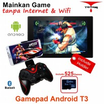Terios T3 play game tanpat Wifi Android bluetooth gamepad VR Box wireless TV Box (T3+HT+8GG01)