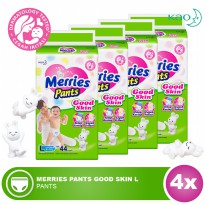 MERRIES Pant Good Skin L 44s - 1 Carton